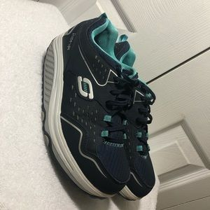 Skechers Women Shape Ups 2.0 Navy/Light Blue